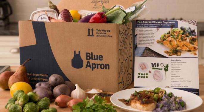 Blue Apron Reports Q3 Earnings Miss