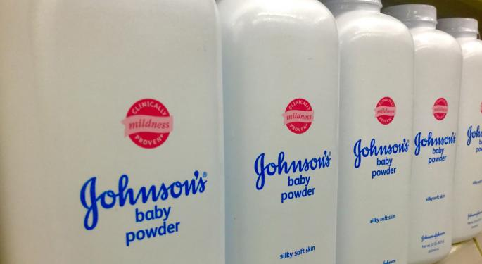 Johnson & Johnson Falls Following Baby Powder Asbestos Report