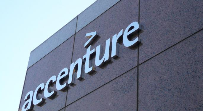 Sell-Side Weighs In On Accenture's 'Steady' Quarter