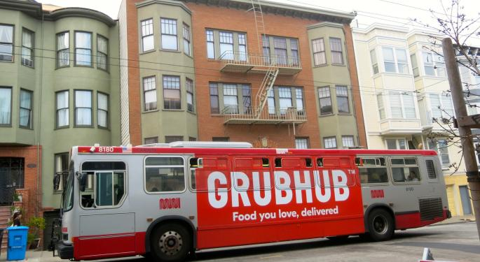 GrubHub's Hunger For Partnerships Will Deliver Growth