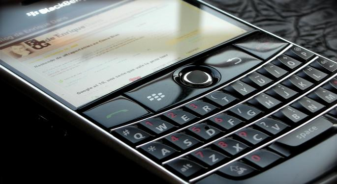 BlackBerry Reports Q1 Earnings Beat