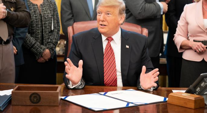 Trump Cancels Davos Trip, Blames Shutdown, Sends Warmest Regards