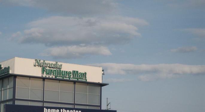 This Day In Market History: Warren Buffett Buys Nebraska Furniture Mart For $55.3M