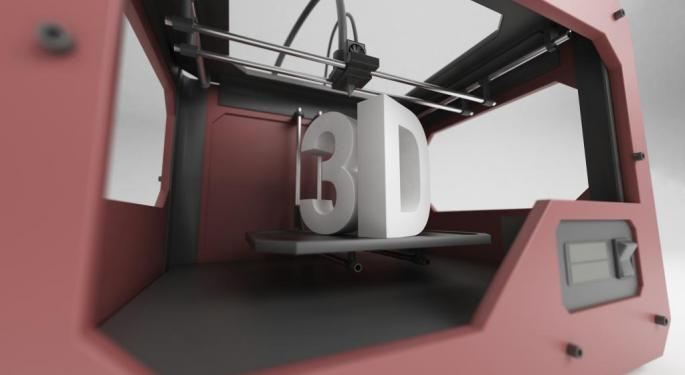 Why 3D Printer ExOne Might Have 7% Upside