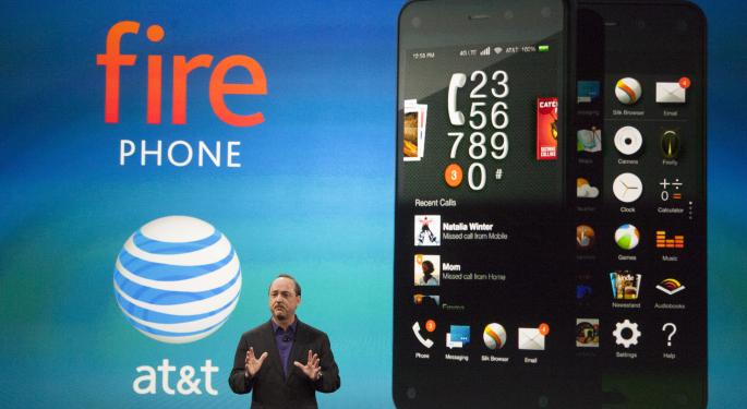 Amazon Could Lose Money On Fire Phone Sales