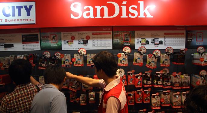 SanDisk Is An 'Excellent' Takeover Candidate, Bernstein Analysts Argue