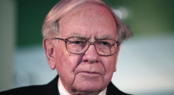 How Much Does Berkshire Hathaway Like Consumer Goods?