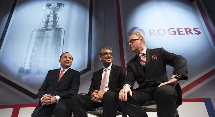 Hockey Broadcasts in Canada Change Hands as Rogers Communications Scores 12-Year Deal with NHL