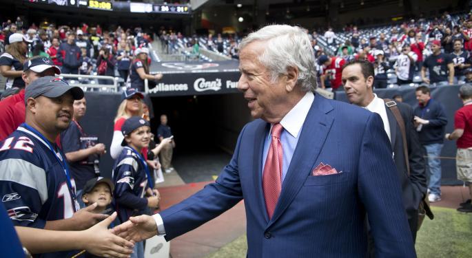 Patriots Owner Robert Kraft Talks Technology In The NFL
