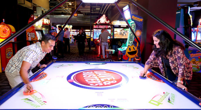 Get Ready: Dave & Buster's Lock-Up Period Is About To Expire