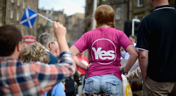 3 ETFs To Watch Amid Scottish Independence