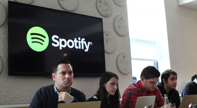 Spotify Releases its Pricing Plan; Shares of Pandora Tumble