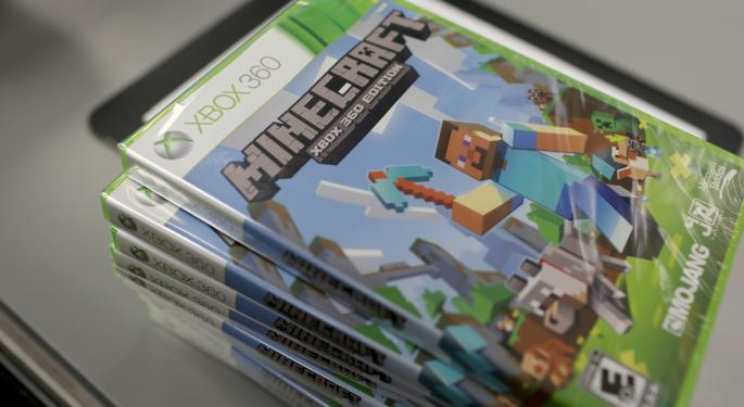Microsoft 'Doubles Down' On Gaming With 'Minecraft' Purchase