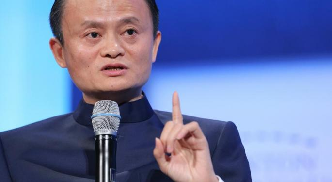 What Is Alibaba's Jack Ma Doing In Paris?