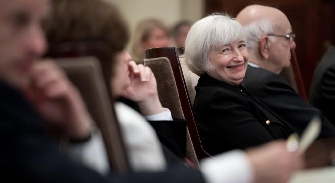 Which Matters More: Janet Yellen Or Earnings & Economic Data?