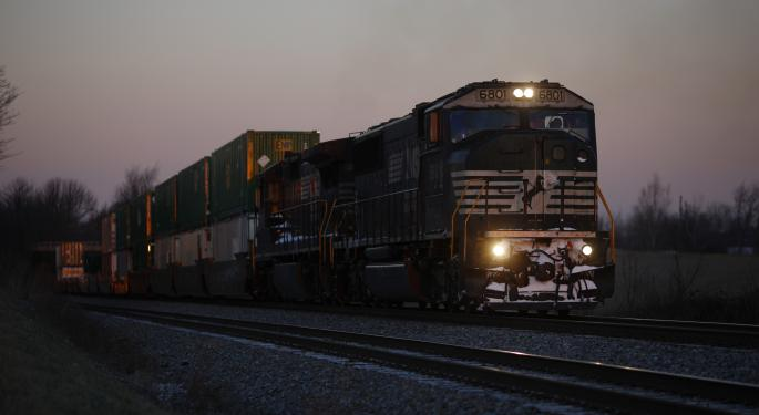 Rail Stocks Slip After Hours On Profit Warning From Norfolk Southern