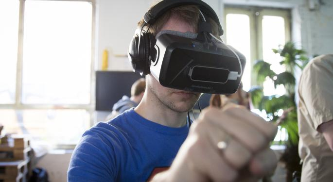 Facebook's Oculus Virtual Reality Headset Planned For Early 2016