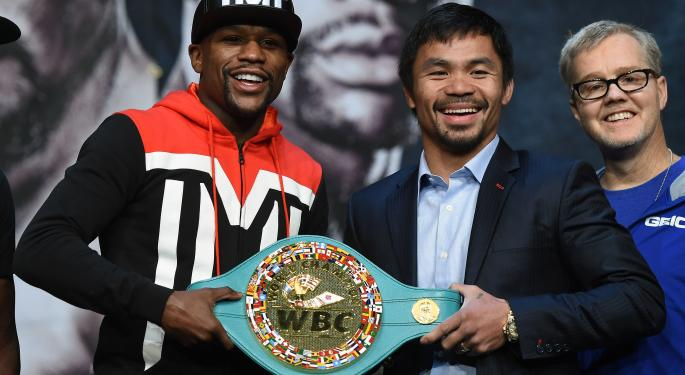 All Eyes On Vegas For Mayweather Vs. Pacquiao