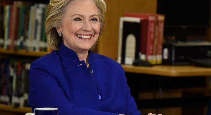 Hillary Clinton Takes Aim At The Financial Sector