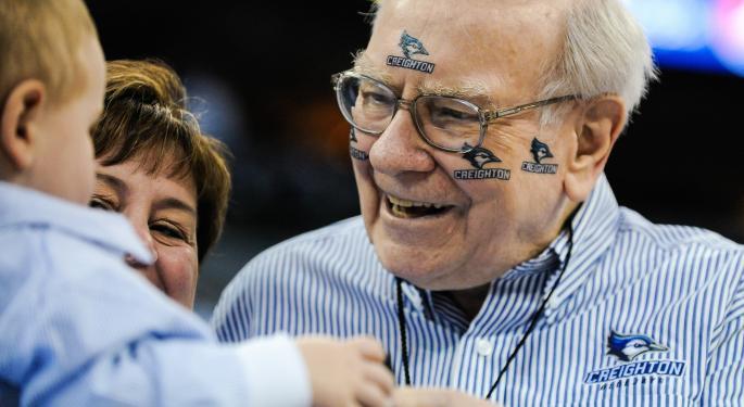 Warren Buffett Stops By ESPN Radio