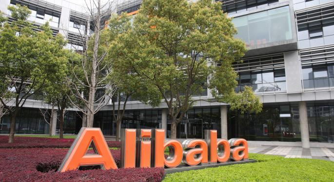 ETFs Adding Alibaba