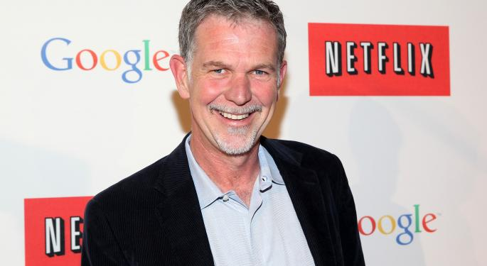 CEO Reed Hastings Rallies Netflix With Facebook Post