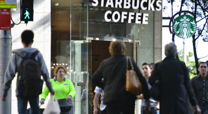 Technically Speaking, Starbucks Is Facing Some Short-Term Resistance