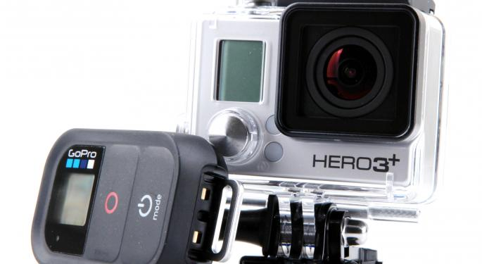 GoPro Announces Strong Viewership Numbers, Stock Jumps