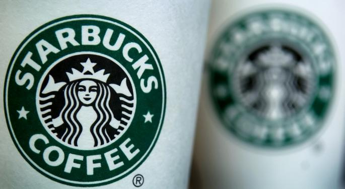 Starbucks Corporation Shares Look Like They'll Pop, Then Drop