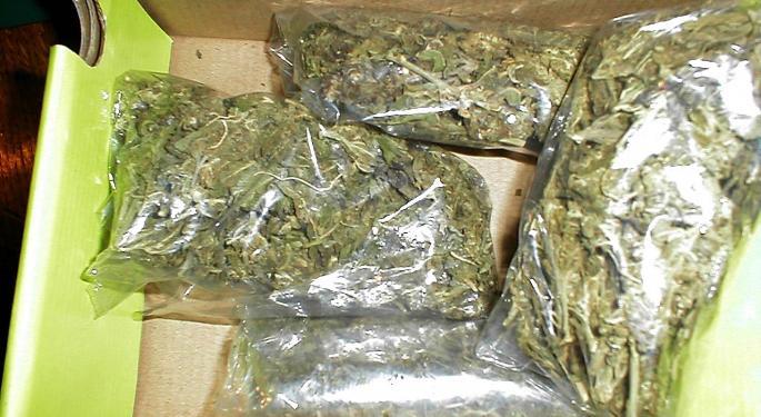 Marijuana Goes Green