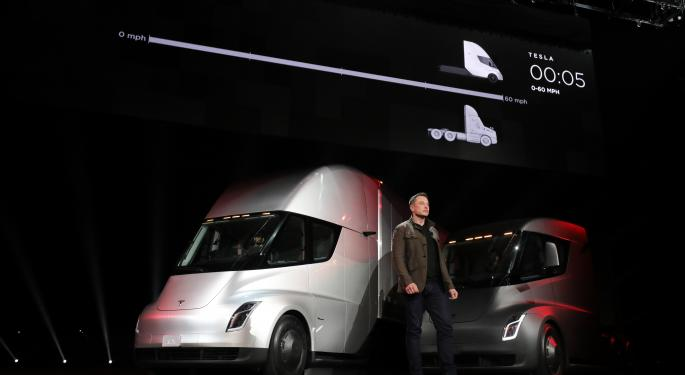 The Tesla Semi: Citigroup's First Impression