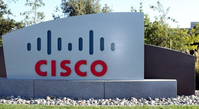 Cisco Shares Fall After Weak Guidance