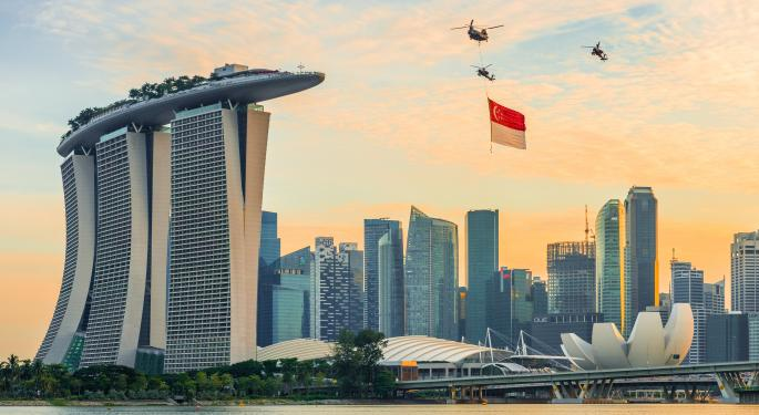 Money Flowing Into Singapore ETFs