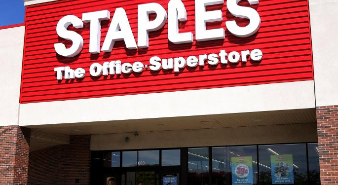 Staples Remains 'Committed' To Completing Acquisition Of Office Depot, Extends Termination Date To May 16