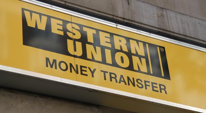 Heavy Bearish Western Union Put Buying Ahead Of Earnings
