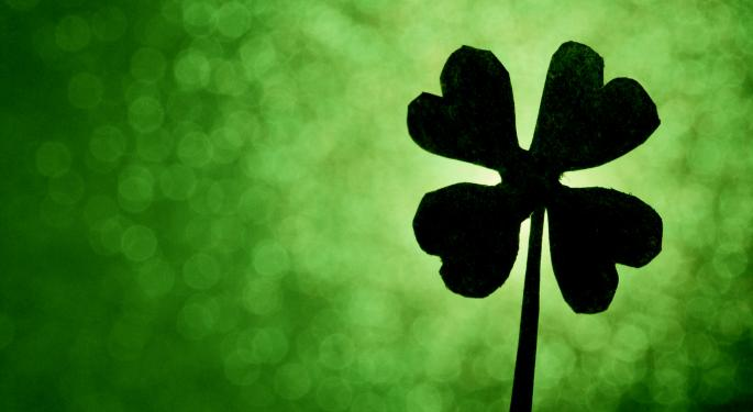 Here's An ETF To Look At For Your St. Patrick's Day