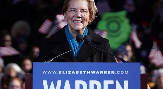 Sen. Warren On Wells Fargo CEO Sloan's Retirement: 'About Damn Time'