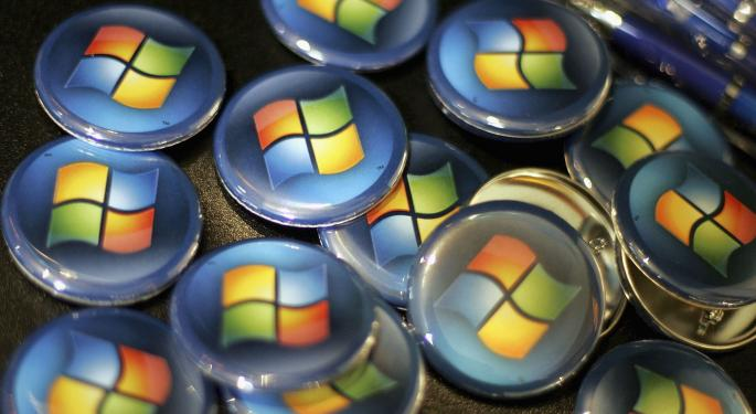 RBC Likes Microsoft, Says Stock Now Worth $65