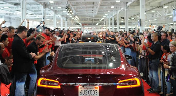 2 Charts That Show There's Tesla, And Then There's Everybody Else