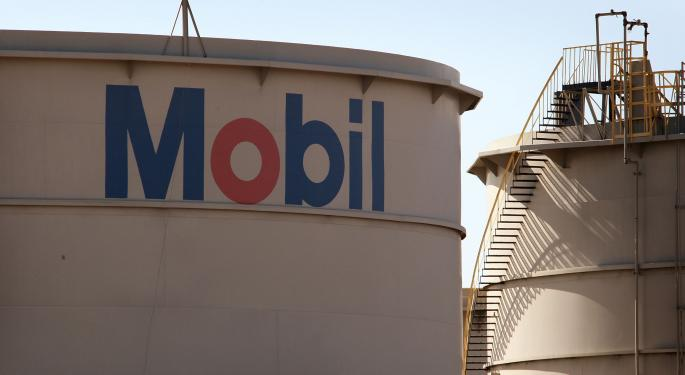 Exxon Mobil Corporation Investors Praying For A Hold Of Support
