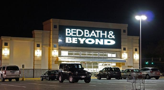 Bed Bath & Beyond Falls 20% Amid Weak 2018 Outlook