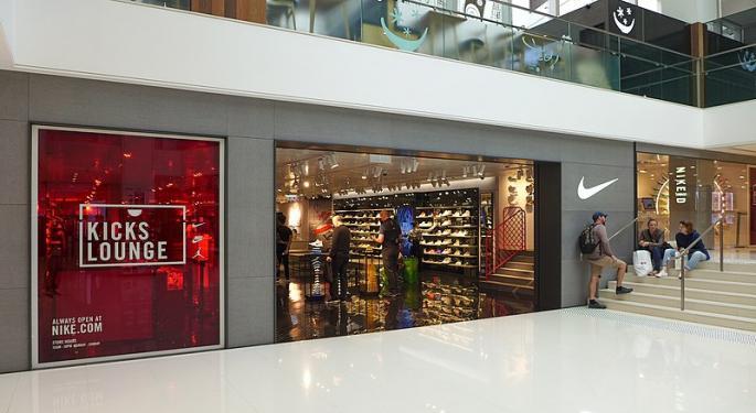 Cowen: Nike's Chinese Growth Unthreatened By NBA Turmoil