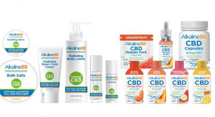 Alkaline Water Co. Launches New CBD Balms, Oils And More