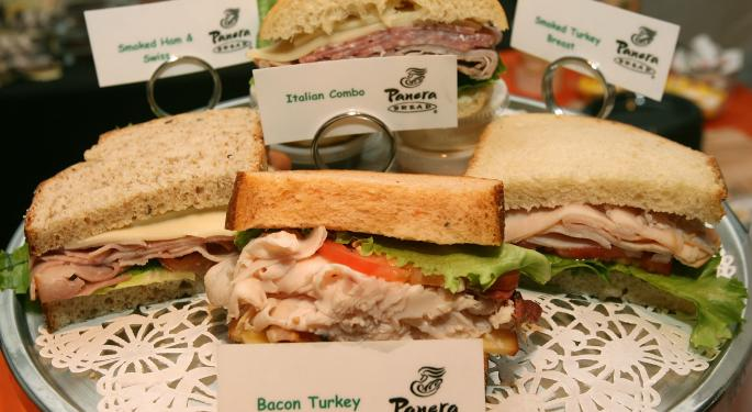 Panera Shelving 'The Meal of Shared Responsibility' PNRA