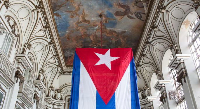 'CUBA' Fund Up 27% On Renewed Talks Between U.S. And Cuba; What Other Stocks Are Moving?