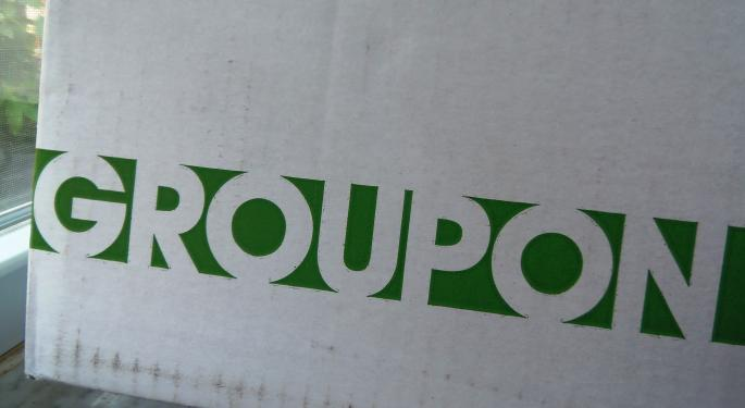 Groupon Back At All-Important $5 Level