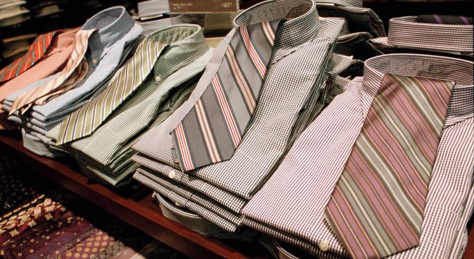 Jos. A Banks Turns Down Acquisition Offer from Men's Wearhouse
