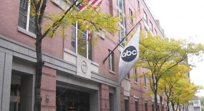 This Day In Market History: Disney Buys ABC