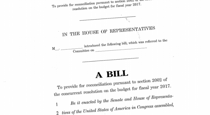 Affordable Care Act Replacement Bill Leaked