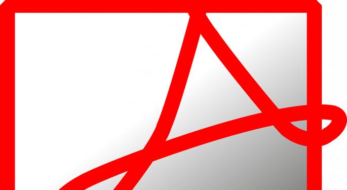 Analysts Still Bullish On Adobe Despite Bookings Miss